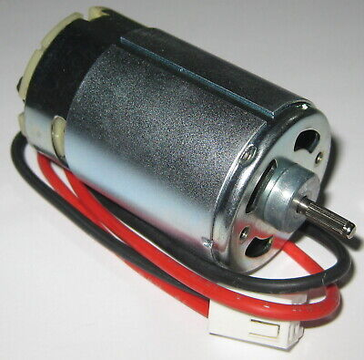 24 V - 1800 Rpm - Slow Speed Electric Dc Motor W Cable Connector - High Tq