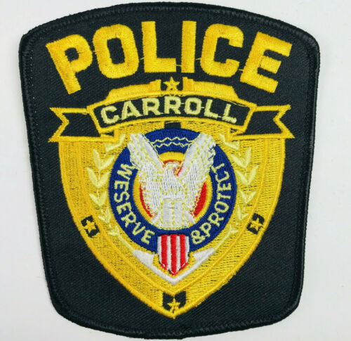 Carroll Police Iowa Patch