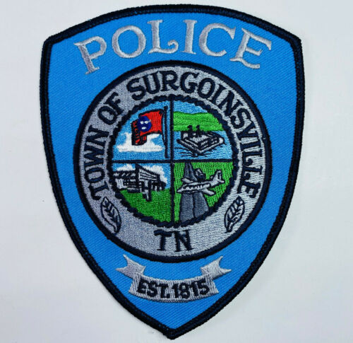 Surgoinsville Police Hawkins County Tennessee TN Patch A5