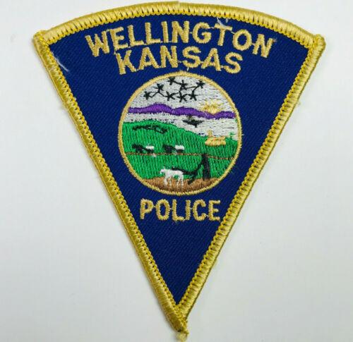 Wellington Police Kansas Patch