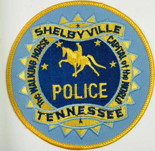 Shelbyville Police Bedford County Tennessee TN Patch (A3)