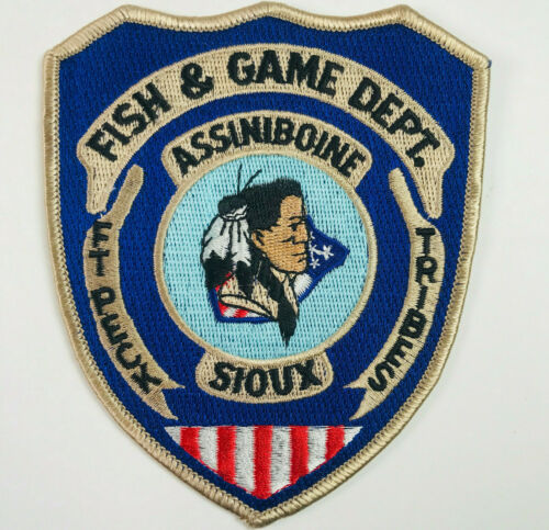 Fort Peck Assiniboine & Sioux Tribes Fish & Game Department Montana Patch