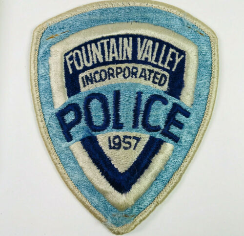 Fountain Valley Police Orange County California Patch