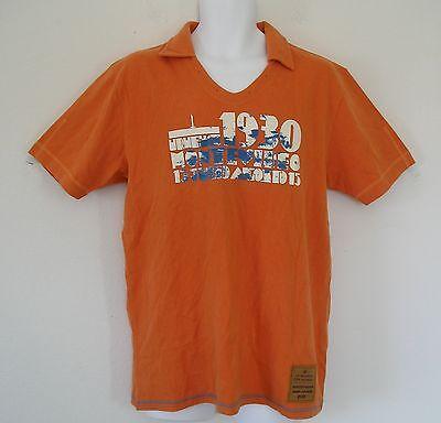 -rarefifa Uruguay 1930 World Cup Football Soccer Vintage Style Shirt Jersey2xl