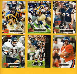 1994-SC-Chicago-Bears-Set-MARK-CARRIER-MERRIL-HOGE-TRACE-ARMSTRONG-ERIK-KRAMER