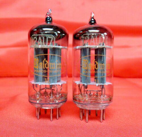 1961 Toshiba 12AU7 PLATINUM GRADE Preamp Amp Audio Tubes Matched Pair = 6189