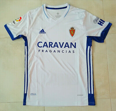 Camiseta Fútbol Real Zaragoza 20/21 #21-ZAPATER. (Talla L)