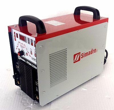 50amp Plasma Cutter Simadre Digital Titan-5200g 110220v 200a Tig Arc Mma Welder