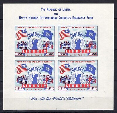 Liberia - UNICEF - timbres  Briefmarken imperf. MNH** G100