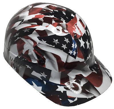 Hydro Dipped Bump Cap American Flags High Gloss W Free Brb Tshirt