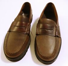 Men's Cole Haan Country Brown Leather Penny Loafers Size ...