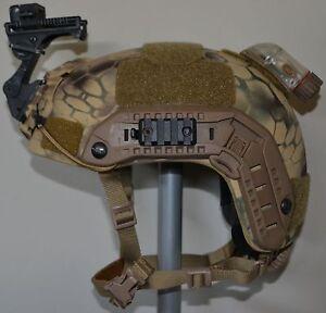 Ballistic IIIA SOHAH Gunfighter helmet SEAL Wilcox CVC Ops Core Large