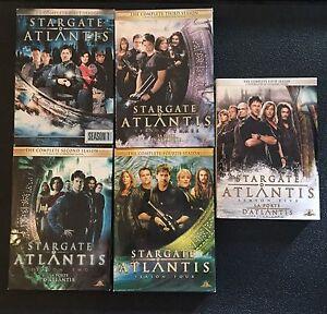 Stargate Atlantis DVDs