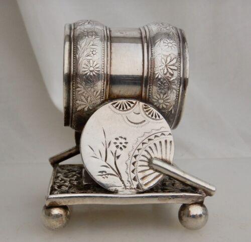 Rogers Silverplate Hand Fan #208 Napkin Ring - 83724