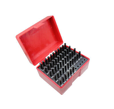 T0018 Pin Gage Set M0- 0.011 To 0.060 Minus Class Zz