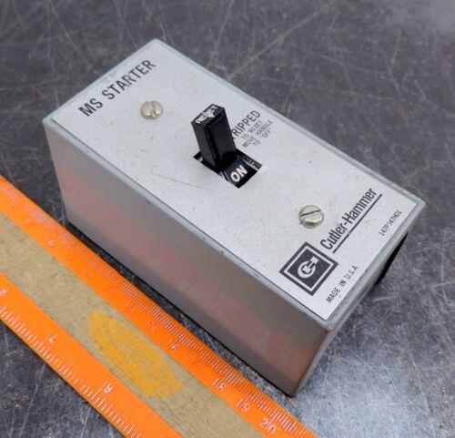 MS Starter Cutler Hammer Eaton Manual MST01SN Motor Starter 147P347H01 Switch