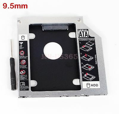 2nd SSD HDD HD Hard Drive Caddy for Acer Aspire E15 E5-575G E14 E5-411G E5-771G