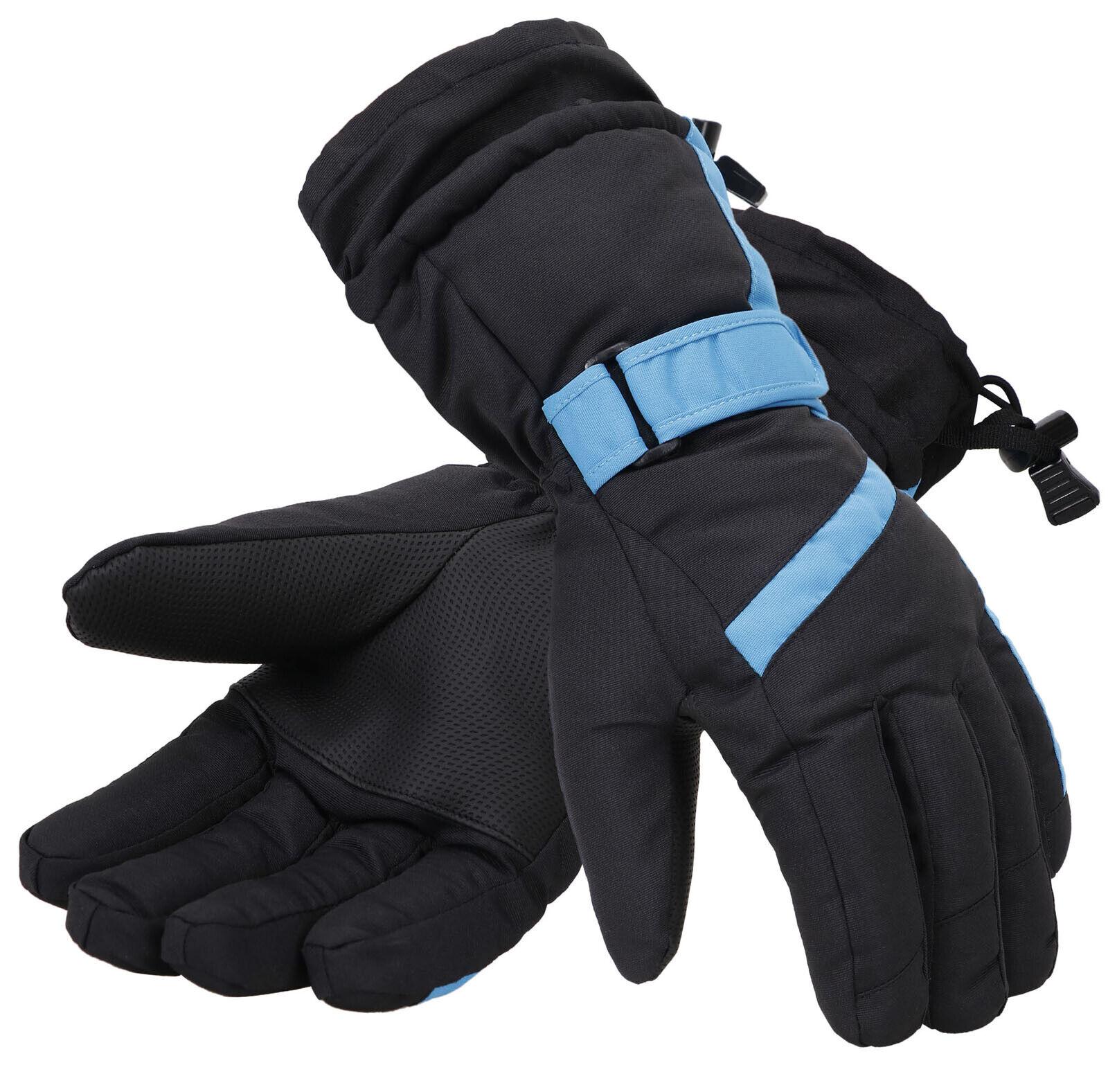 Mens Winter 3M Thinsulate Waterproof Touchscreen Ski Snow Gloves