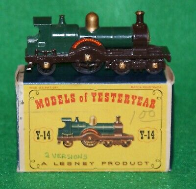 Matchbox Models of Yesteryear 1903 Locomotive Issue 5 MOY Y14-1 D1 Box