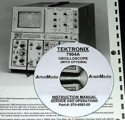 Tektronix 7904a Oscilloscope Service Manual