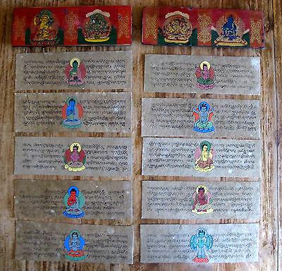 RAR Gebetsbuch Tibet Buddhismus Asien wohl 1900