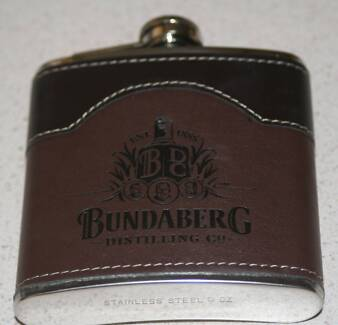 Bundy hip flask (empty)