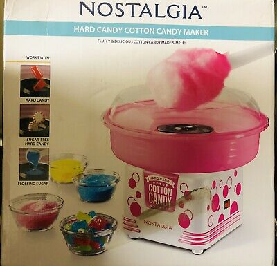 Nostalgia Hard Candy Cotton Candy Maker