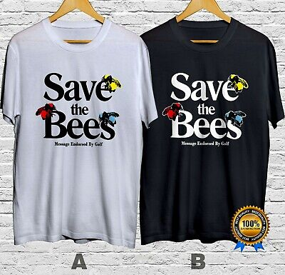 Golf Wang Save The Bees Message Endorsed T-Shirt Cotton 100% Short Sleeve S-4XL