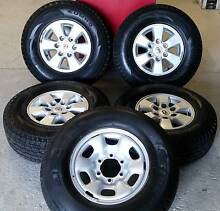 Set of Toyota Hilux Alloy Wheels & Tyres Moorooka Brisbane South West Preview