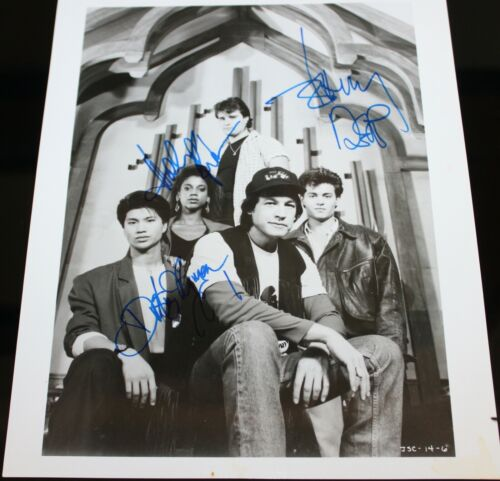 21 JUMP STREET X4 CAST JOHNNY DEPP HAND SIGNED AUTOGRAPH #264 PHOTO PHOTOGRAPH