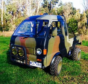 Daihatsu Hijet Jumbo 1987 S81 4x4 Ute/ Off road vehicle $8500 ONO Ballan Moorabool Area Preview