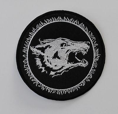 Watain Embroidered Patch Satanic Warmaster Tsjuder Bathory Pest Dark Funeral