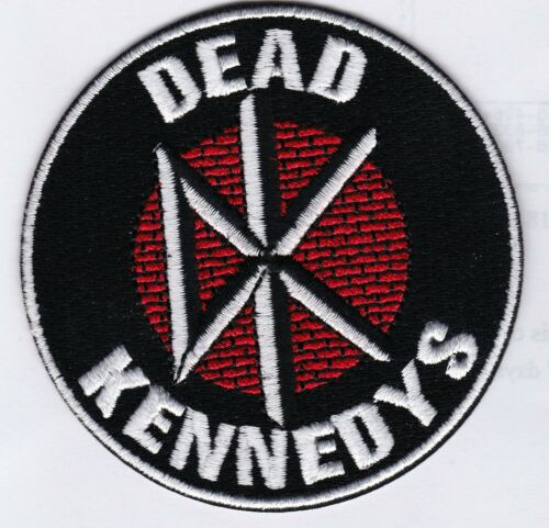 DEAD KENNEDY - PUNK LOGO - IRON or SEW-ON PATCH
