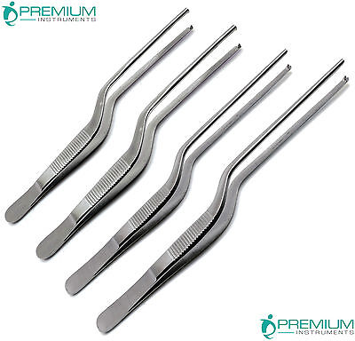 Adson Bayonet Kocher Forceps Tweezers Medical Dressing Ent Instruments Set Of 4