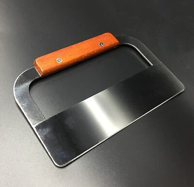 """7.25"""" Stainless Steel and Wood Flat Soap Cutter ~ US Seller"""