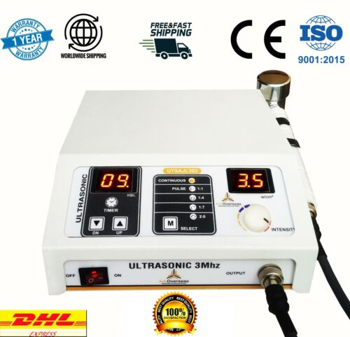 New 3Mhz Ultrasound therapy Portable Multiple Pain Relief Machine UTSAJL-302