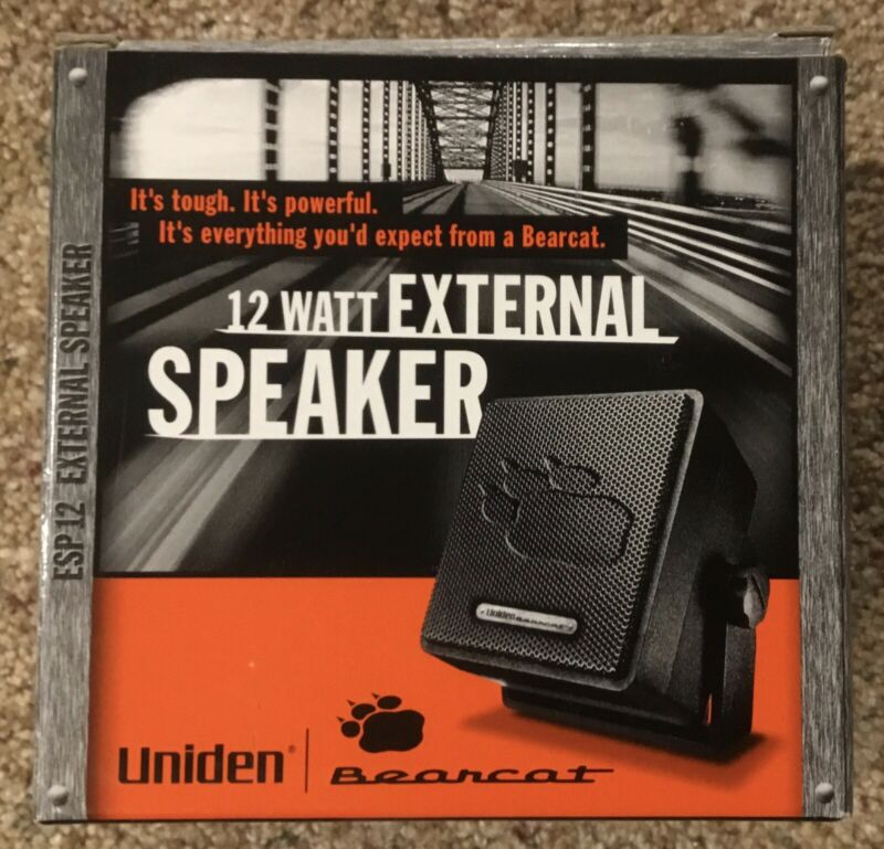 Uniden Bearcat ESP-12 Speaker *** BRAND NEW ***