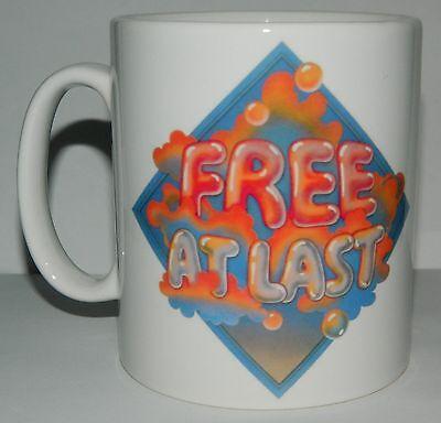 FREE / PAUL KOSSOFF - 'FREE AT LAST' - STUNNING 11oz COLLECTORS MUG - LIMITED