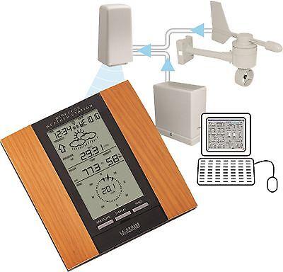 WS-2315OAK La Crosse Technology Professional Weather Station Wind Rain CLOSEOUT