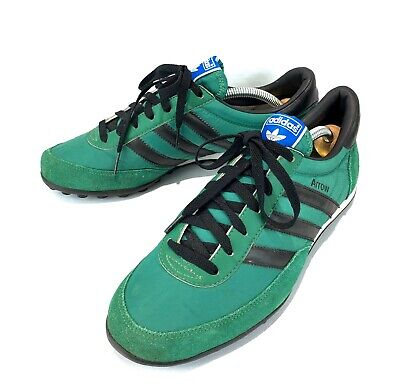 ADIDAS ARROW Vintage Trainers UK 7 Green And Black Excellent Condition