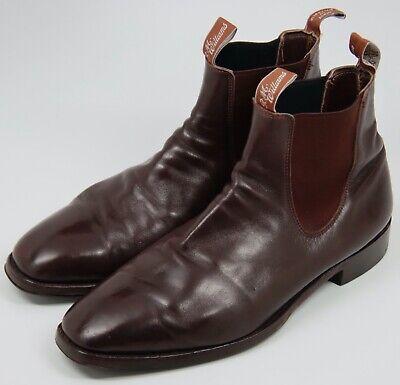 RM Williams Craftsman Dark Brown Leather Boots - Men's sz 13