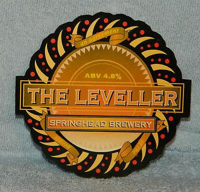 Springhead The Leveller * Pump Clip Front