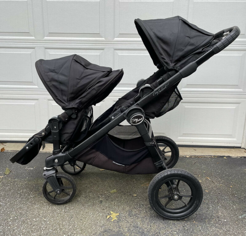 Baby Jogger City Select Lux Double Stroller With 2nd Seat