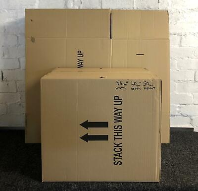 10 x Recycled Double wall CardBoard Boxes Home moving storage packing A