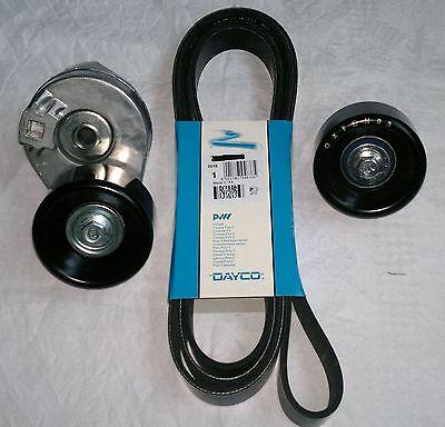 TRANSIT DAYCO ALTERNATOR FAN DRIVE BELT IDLER ROLLER TENSIONER 2.4 MK6 2000-2006
