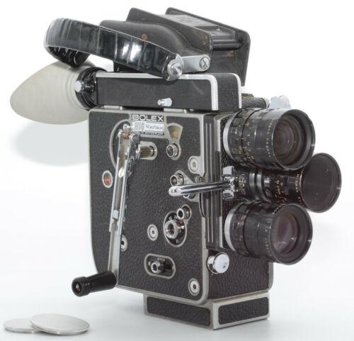 【MINT 3Lens】 BOLEX H16 REX5 Nikon Cine 13mm 25mm 50mm f1.8 Movie JAPAN send #133
