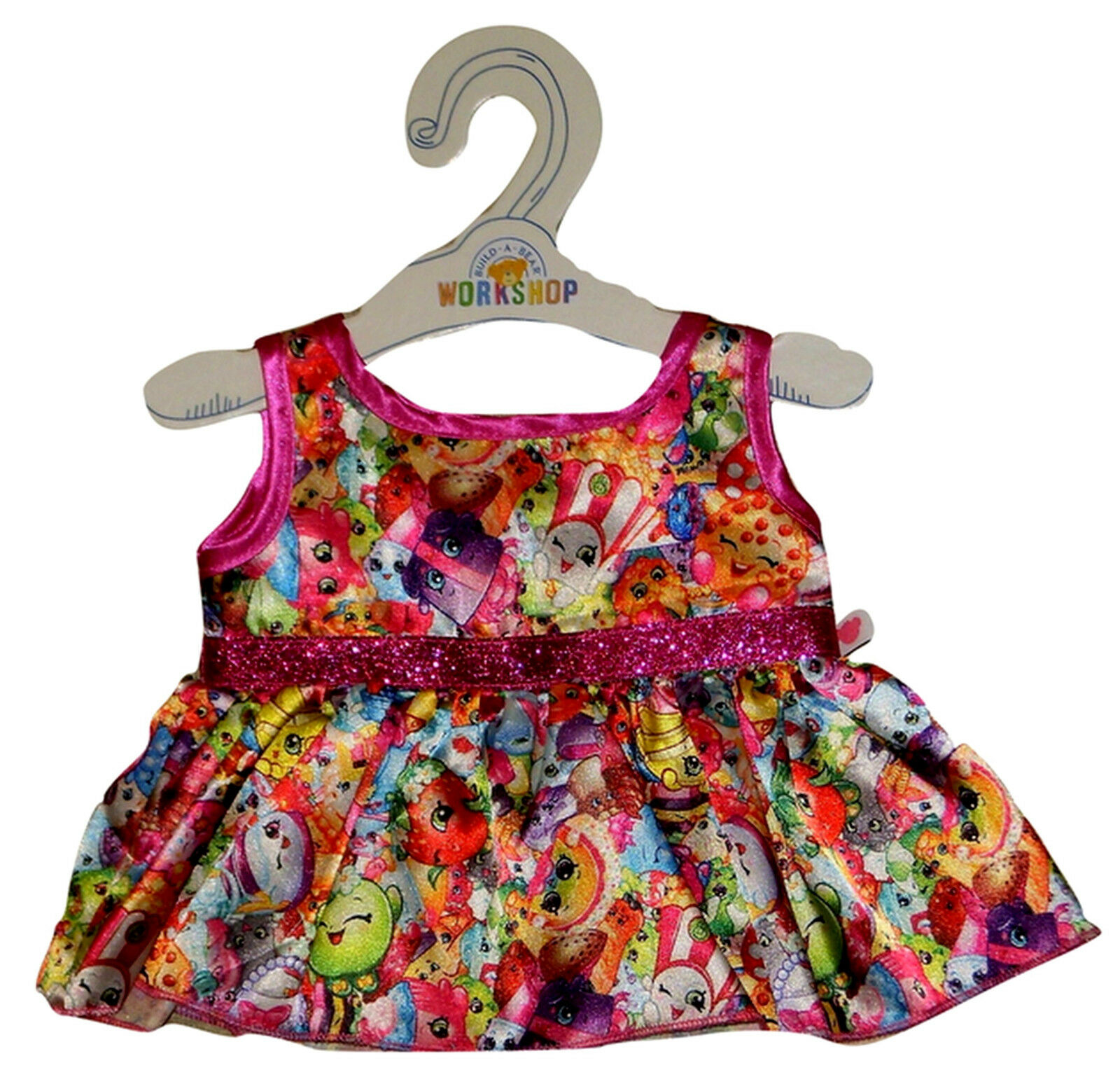 build a bear shopkins character dress teddy doll size outfit ebay