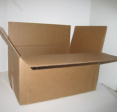 14x10x6 Corrugated Cardboard Packing Shipping Moving Boxes Mailing Carton 25 New