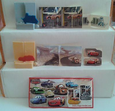 """2011 - Disney Cars 2  """"Wendebilder"""" + 1 BPZ + AKF  (Russland)"""