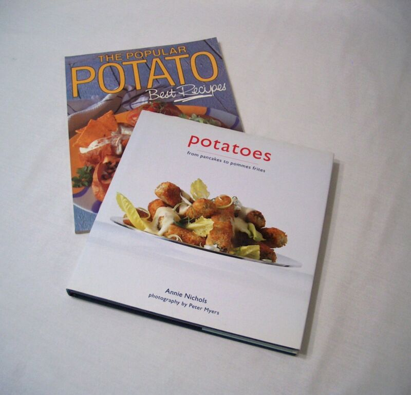 Potatoes 1998 Hardcover  Annie Nichols Cooking Mexico Italy Portugal Thailand II